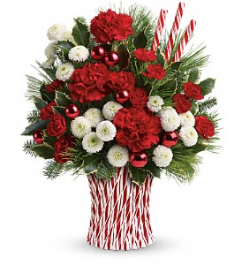 Teleflora's Peppermint Sticks Bouquet in Baltimore MD, Cedar Hill Florist, Inc.