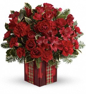Season's Surprise Bouquet by Teleflora in East Providence RI, Carousel of Flowers & Gifts