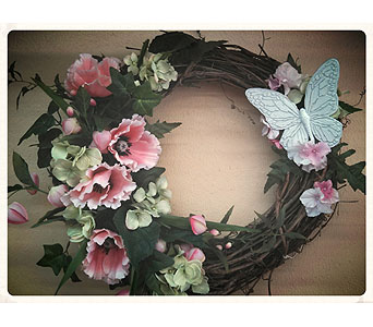 Silk Wreath in Cynthiana KY, AJ Flowers & Gifts