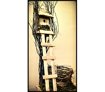 Bird House in Cynthiana KY, AJ Flowers & Gifts