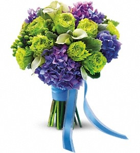 Luxe Lavender and Green Bouquet in Clearwater FL, Hassell Florist