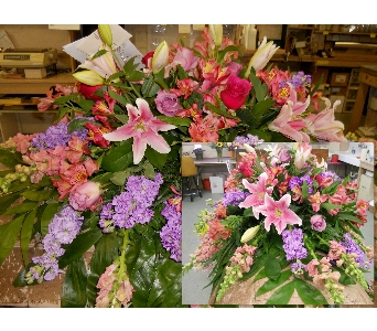 Half Funeral Pall in Nashville TN, Emma's Flowers & Gifts, Inc.