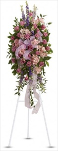 Finest Farewell Spray in Clearwater FL, Hassell Florist
