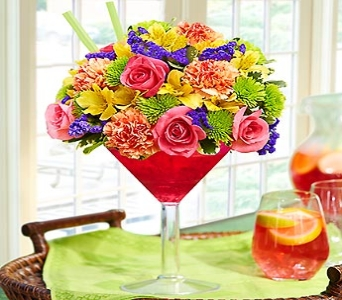 Sangria Bouquet in Oakland CA, From The Heart Floral