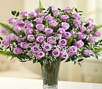 Ultimate Elegance� Long Stem Roses - Purple in Oakland CA, From The Heart Floral