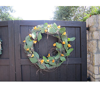 Fresh Cactus Wreaths in San Antonio TX, Allen's Flowers & Gifts
