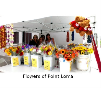Point Loma High in San Diego CA, Flowers Of Point Loma