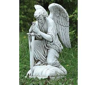 Kneeling Male Angel$65 in Westerville OH, Reno's Floral
