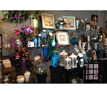 our shop in Brownsburg IN, Queen Anne's Lace Flowers & Gifts