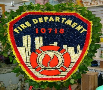 FDNY EMBLEM  in Brooklyn NY, David Shannon Florist & Nursery