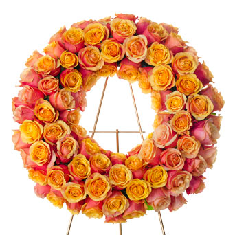 Splendor - Rose Wreath Spray in Dallas TX, Dr Delphinium Designs & Events