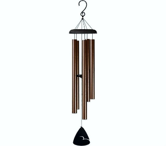 BRONZE FLECK WIND CHIME in Pittsburgh PA, Harolds Flower Shop
