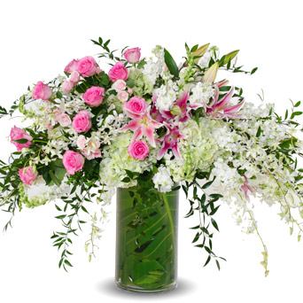 Grace - Soft Altar Flowers in Dallas TX, Dr Delphinium Designs & Events