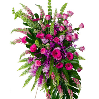 Grace - Mix Pink Flower Spray in Dallas TX, Dr Delphinium Designs & Events
