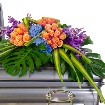 Radiance - Bright Half Casket Flowers in Dallas TX, Dr Delphinium Designs & Events