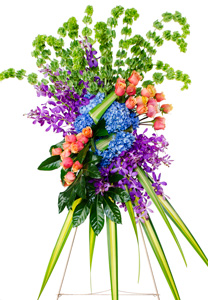 Radiance - Flower Spray in Dallas TX, Dr Delphinium Designs & Events