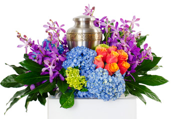 Radiance - Cremation Flowers in Dallas TX, Dr Delphinium Designs & Events