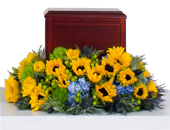 Strength - Cremation Flowers 1 in Dallas TX, Dr Delphinium Designs & Events