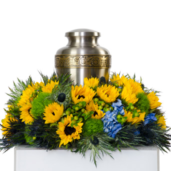 Strenght - Cremation Flowers 2 in Dallas TX, Dr Delphinium Designs & Events