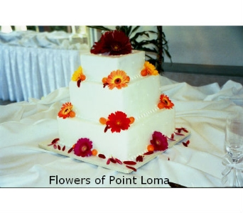 Cake in San Diego CA, Flowers Of Point Loma