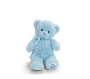 Baby Gund Bear- Sm Blue in Lawrence KS, Owens Flower Shop Inc.