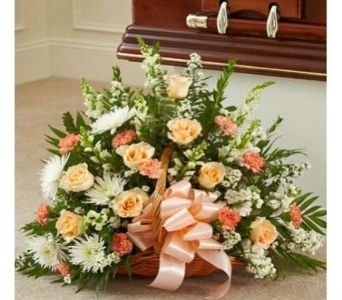 Fireside Baskets by Color in Princeton, Plainsboro, & Trenton NJ, Monday Morning Flower and Balloon Co.