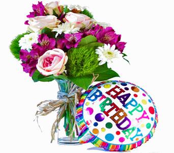 Flower Birthday Cake Wesley Berry