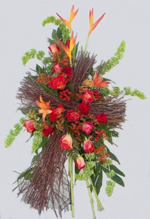 Vibrant Branch Cross Spray in Lake Charles LA, A Daisy A Day Flowers & Gifts, Inc.