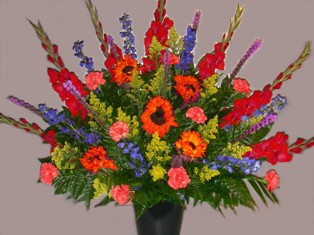 Star-burst Bouquet in Lake Charles LA, A Daisy A Day Flowers & Gifts, Inc.