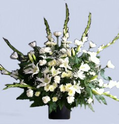 Peaceful Memories Arrangement in Lake Charles LA, A Daisy A Day Flowers & Gifts, Inc.