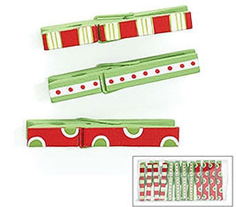 Christmas Deco Clip Assortment in Tampa FL, Buds, Blooms & Beyond