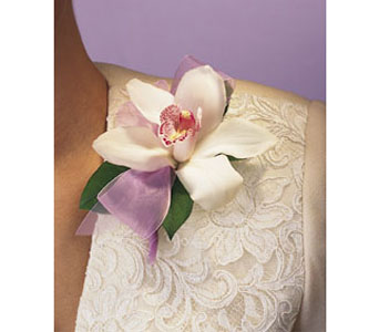Single Cymbidium Corsage in Brooklyn NY, Enchanted Florist