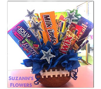 Football in Upland CA, Suzann's Flowers
