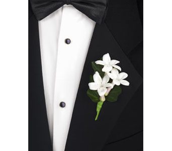 Stephanotis Boutonniere in Brooklyn NY, Enchanted Florist