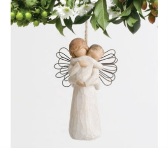 Willow Tree Angel''s Embrace Ornament in Rantoul IL, A House Of Flowers