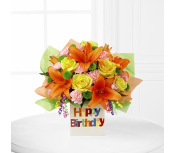 A Birthday Celebration- Deluxe in Arizona, AZ, Fresh Bloomers Flowers & Gifts, Inc