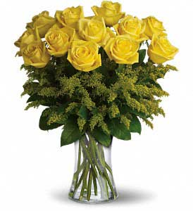 Yellow Roses from the Heart by Hoogasian Flowers in San Francisco CA, Hoogasian Flowers