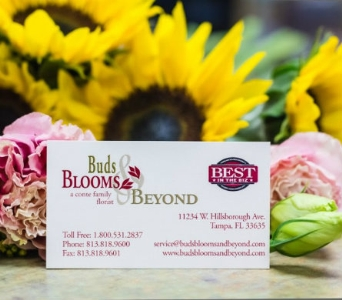 Business Card in Tampa FL, Buds Blooms & Beyond