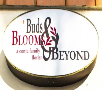 Outside Sign in Tampa FL, Buds Blooms & Beyond
