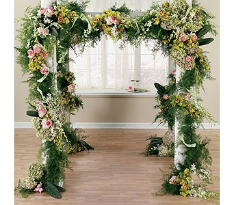 Green Weddings 6 in Albuquerque NM, Silver Springs Floral & Gift