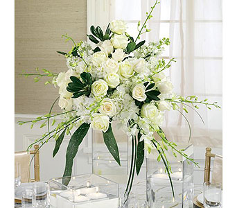 White Wedding 9 in Albuquerque NM, Silver Springs Floral & Gift