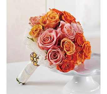 Orange Wedding 11 in Albuquerque NM, Silver Springs Floral & Gift