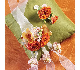 Orange Wedding 12 in Albuquerque NM, Silver Springs Floral & Gift