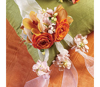 Orange Wedding 13 in Albuquerque NM, Silver Springs Floral & Gift