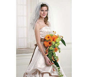 Orange Wedding 16 in Albuquerque NM, Silver Springs Floral & Gift
