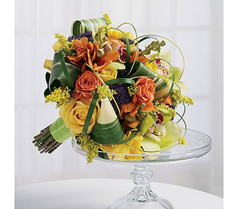 Orange Wedding 19 in Albuquerque NM, Silver Springs Floral & Gift