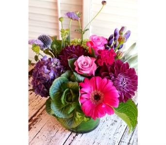 Color your day in Orinda CA, Misaghi Design Orinda Florist