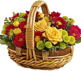 fall flowers delivery cocoa fl a basket of love florist