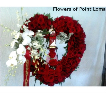 Open Heart with Saint in San Diego CA, Flowers Of Point Loma