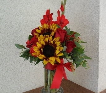 Red Sunshine in Henderson NV, Beautiful Bouquet Florist